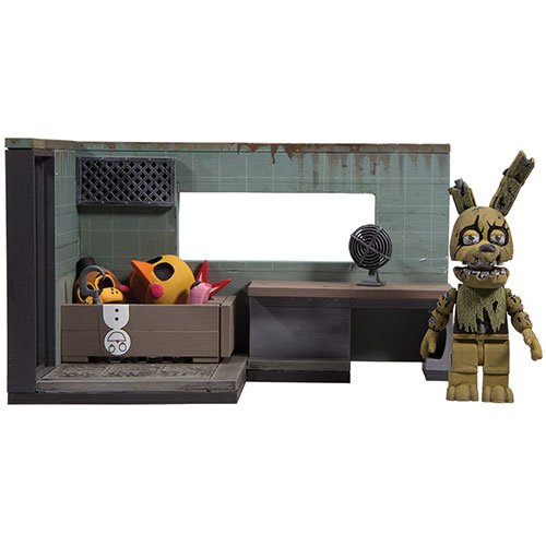 Image of McFarlane Toys Five Nights At Freddy's The Security Office Construction Set'