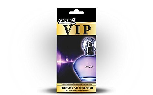 Preisvergleich Produktbild 5 x caribi VIP Auto, Zuhause oder Büro Lufterfrischer mit Parfume Duft von 503 - Dior Dior Homme Sport