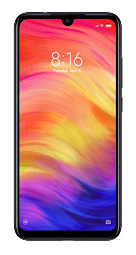 Redmi Note 7 - smartphone 6.3 inches (4GB + 64GB, Android operating system, Screen resolution 2340 x 1080 pixels), Negro (Space Black)