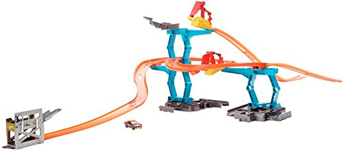 Hot Wheels - Cdl56 - Circuit De Voiture - Piste Lancement Cascade