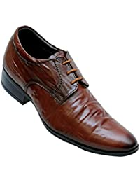 Fills Men Tan Leather Shoes