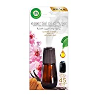 Air Wick Air Freshener Essential Oil Diffuser Refill, Almond and cherry Vanilla