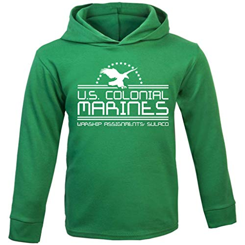 Alien US Colonial Marines Baby and Kids Hooded ()