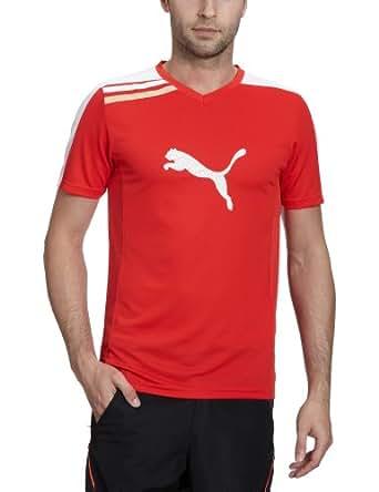 PUMA Herren Trainingsshirt Esito, puma red-white, S, 652597 01