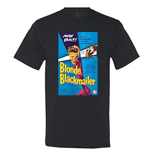 Minty Tees Men's Vintage Blonde Blackmailer