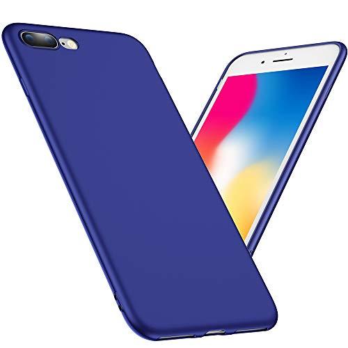 Joyguard iPhone 7 Plus Hülle, iPhone 8 Plus Hülle, Soft Flexibel Silikon iPhone 7 Plus/8 Plus Handyhülle Ultra - Dünn Anti-Rutsch Stoßdämpfend iPhone 7 Plus Hülle Silikon - 5.5 Zoll - Blau
