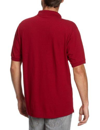 Lacoste Herren Poloshirt Rot (Bordeaux)