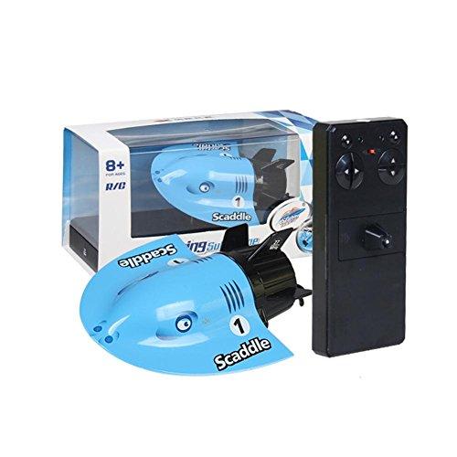 Mini Ferngesteuert U-Boot, Kinder RC Spielzeug Boot, Innovativ Wiederaufladbar Sightseeing Boot, Wasser Spielzeug für Kinder