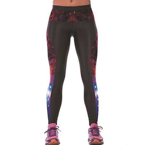 Sasairy-Donna-Sport-Pantaloni-Full-Length-Leggings-non-Pantaloni-Collant-Elastico-ci-si-Vede-Attraverso-Fitness-Workout-Yoga-in-Esecuzione-Hipster-Usura-Esterna-Palestra-S-L
