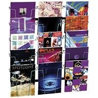 Prospektständer Flex Brochure Stand 6x DIN A4 Infoständer Prospekt Flyer 4530