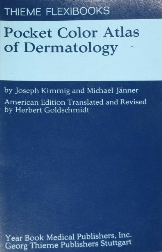 Pocket Colour Atlas of Dermatology by Joseph Kimmig (1977-10-02)