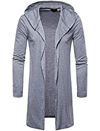Covermason Abrigo Hombre Invierno, Largo Clasico Coat Casual Saco Elegante Slim