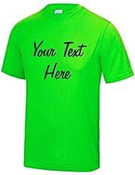 Direct 23 Ltd Personalised Mens Cool Sports T-Shirt