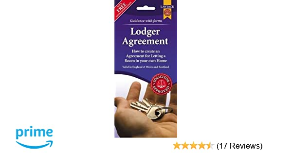 Lodger Agreement Form Pack England Wales And Scotland Amazon