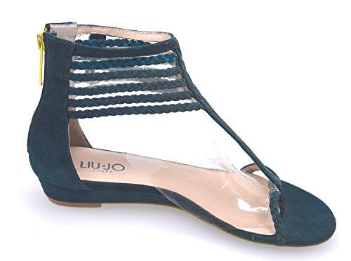 Liu-jo Sandalo Plat Femme Sucre Canne Sucre Art. Simona S11065 P0021 Canne À Sucre - Chien Sucre