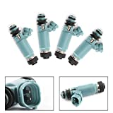 Areyourshop 4PC 195500-3920 850cc Fuel Injectors For ModifIed Su-ba-ru Impreza WRX 2002-2005