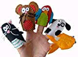 Animal finger Puppets - Pets