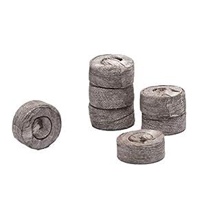 fabrica de pallets: Yardwe 50 UNIDS 3 cm Bloque de Suelo de Plántulas Turba Pellet Seed Plugs de Ini...