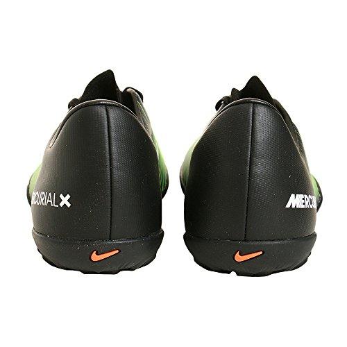 Nike Jungen 831949-013 Fußballschuhe Black (Schwarz / Weiß-Elektro - Grün) 01Ut7