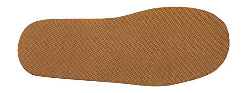 Pantofole di Lusso Scamosciate in Vera Pelle da Uomo Marrone