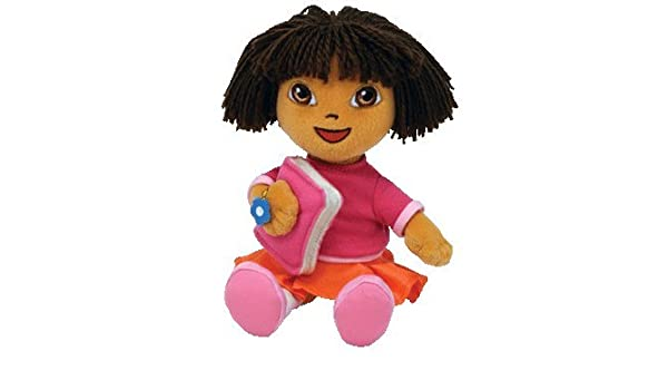 TY Dora the Explorer - Back to School Beanie Baby  Amazon.co.uk  Toys    Games fb1d40abc946