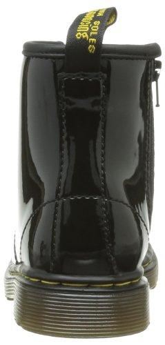 Dr. Marten's Brooklee, Stivali Unisex da Bambino Nero (Black Patent Lamper)