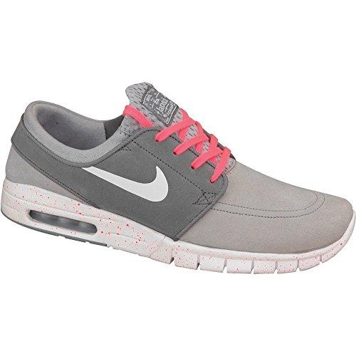 Nike - Zoom Stefan Janoski Max - 685299016 - Color: Gris - Size: 39.0