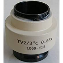 GOWE nuevo 0,63x adaptador de video relé lente para Leica/microscopio Zeiss.