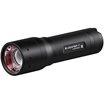 LED LENSER P7.2 Torch Flashlight 320 Lumens Retail Black Gift Box UK