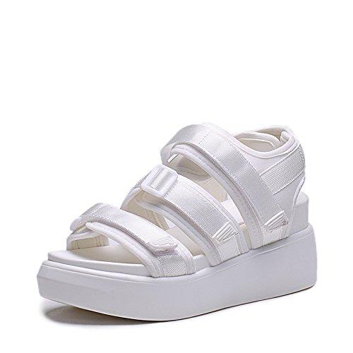 ZPPZZP Ms sandali in stile romano estate studenti rilassatevi nella spessa 38EU