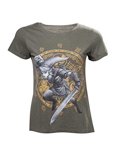 Nintendo Legend Zelda Woman'S Link At the Gate of Time T-Shirt, Camise