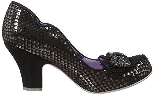 Irregular Choice Miss Issippi, Chaussures À Talons Noirs Pour Femmes (noir)