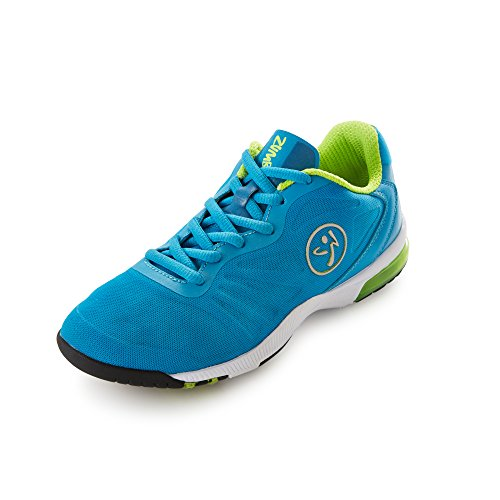 Zumba Footwear Impact Pulse Damen Hallenschuhe Blau (Blue/Yellow)