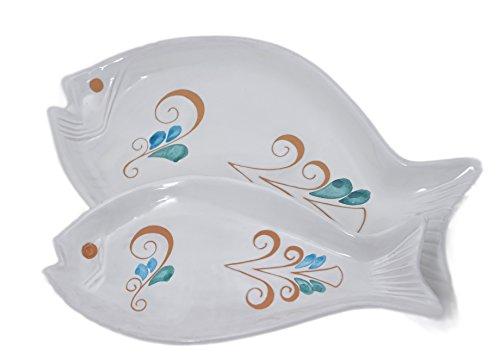 Kernos Ceramiche, Assiette en forme de poisson