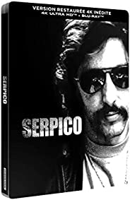 Serpico [Version restaurée 4K inédite-4K Ultra HD + Blu-Ray-Boîtier métal SteelBook limité]