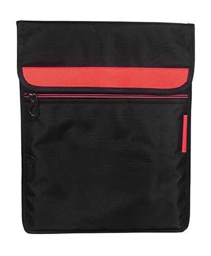 Saco Laptop Vertical Envelope Sleeve Bag Case Cover with shoulder strap forHP 13-s101TU 13.3-inch Touchscreen Laptop -Orange