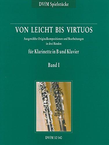 Von leicht bis virtuos Begleitheft zu 'Neue Schule für Klarinette' Band 1 (DV 32140)