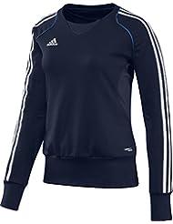 adidas Pullover T12 Team Crew Sweater X13718 - Prenda, color azul, talla 32