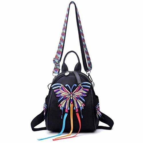 Rose Stickerei Damen Schultertasche Handtasche,Style5 Style4