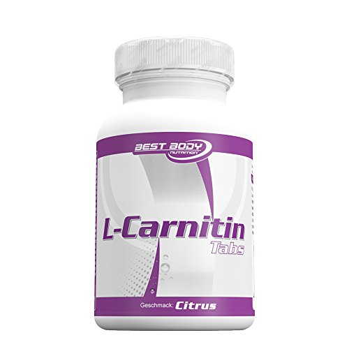 Best Body Nutrition L-Carnitin Tabs, Citrus, 60 St. Dose