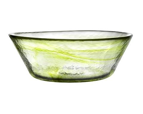 Mine Lime Bowl D 250Mm [W] (Kosta Boda Geschenke)