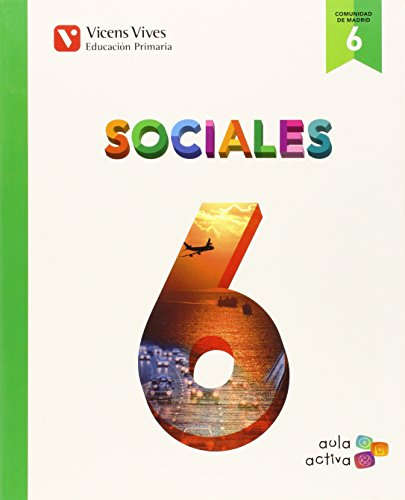 Sociales 6 Madrid (aula Activa) - 9788468228495