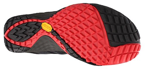 Merrell Glove 4 e-Mesh, Scarpe da Trail Running Uomo Nero (Black)
