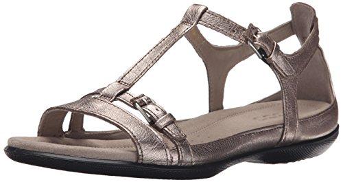 Ecco Flash Sandal Damen US 5 Gold Stöckelschuhe
