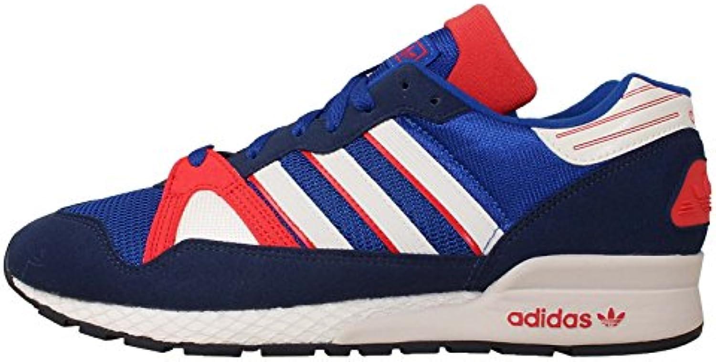 Adidas - ZX 710 - M25791 - El Color Blanco-Rojo-Azul - Talla: 44.0