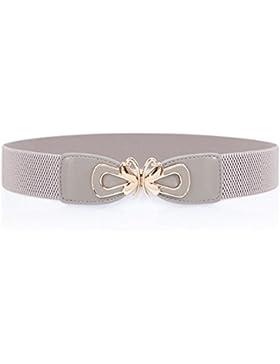 Cinturón Decorativo De Moda/Joker Stretch Cintura Elástico-gris 60cm(24inch)