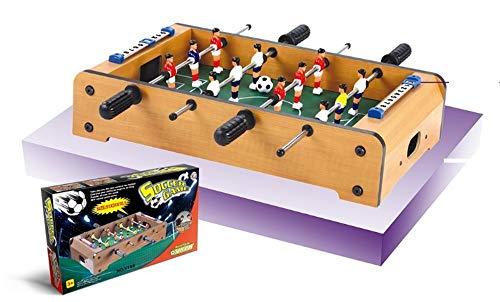Devessport - Futbolín de sobremesa Ideal para Jugar con Amigos - Infantil - A Partir de 3 años - Fácil Montaje - Dispone de marcadores - Medidas: 51 x 31 x 10.5 Cm