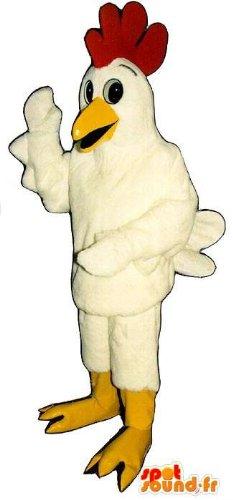 mascota-spotsound-amazon-personalizable-gallina-blanca-disfraz-de-pollo