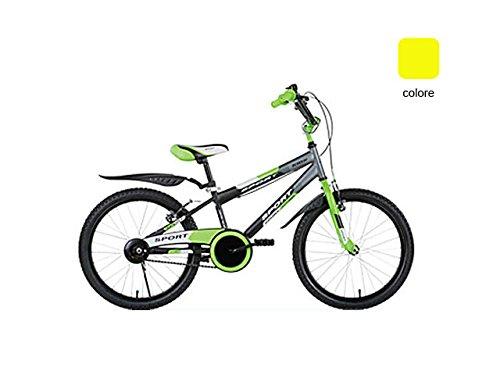 schiano 795 bicicletta sport uomo 01v. giallo con ruota diametro 20