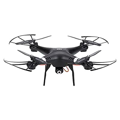 GoolRC SH5C 2.0MP Camera Drone RTR RC Quadcopter with Headless Mode 3D Flips & One Key Return Drone